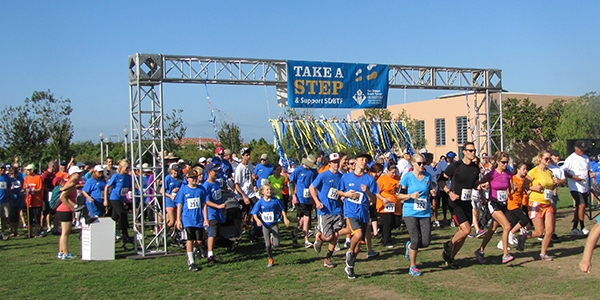4th Annual Step & Support SDBTF 5K