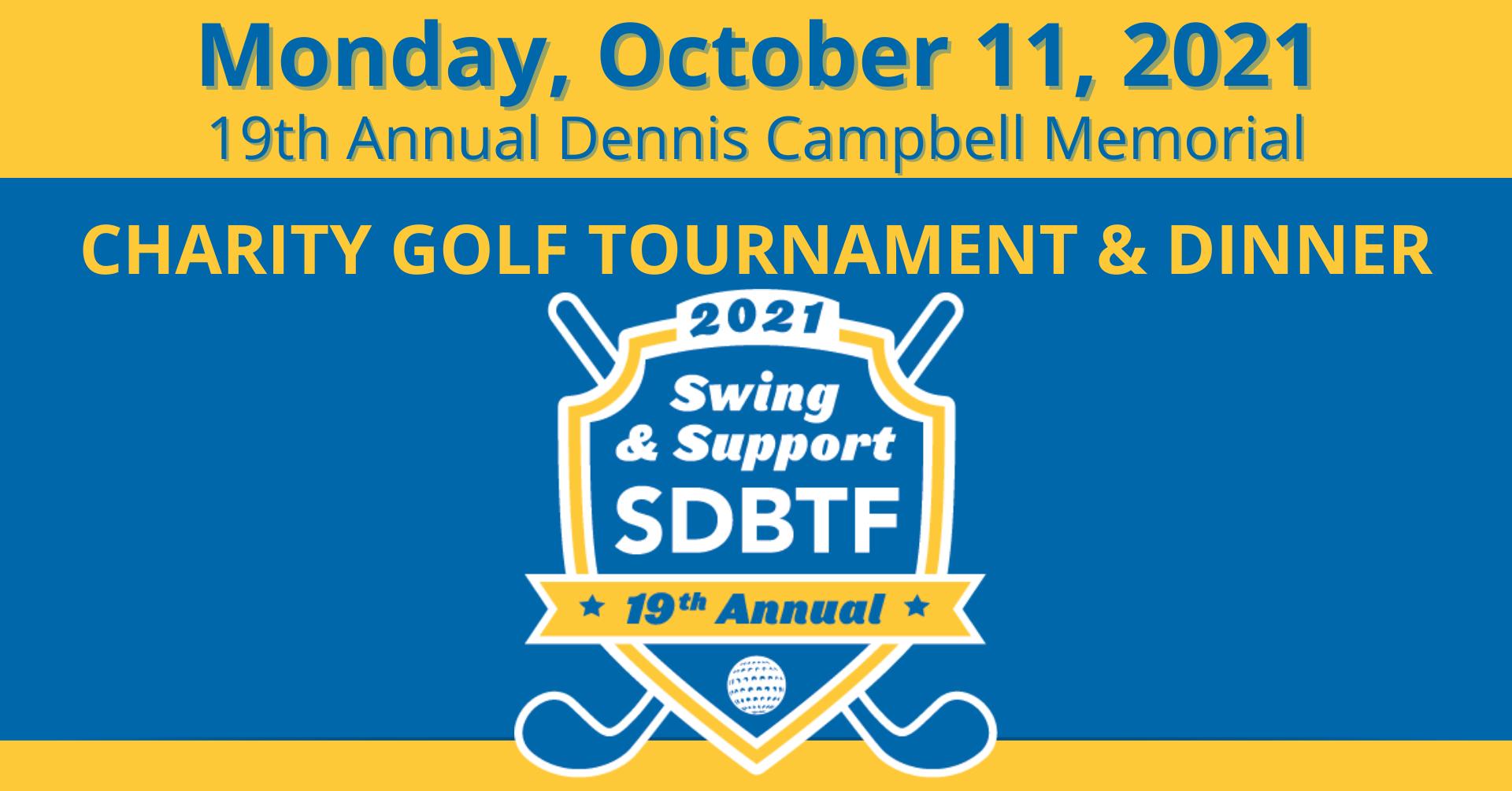 SDBTF 2021 Golf Tournament